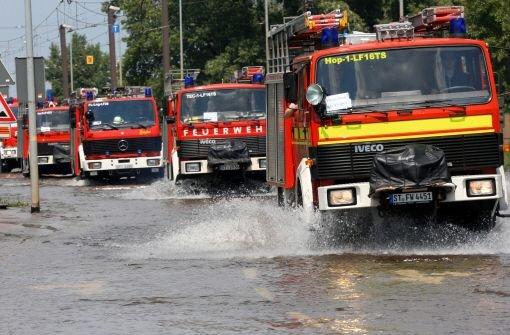 Im Ortenaukreis hatte die Feuerwehr alle Hände voll zu tun. (Symbolfoto) Foto: dpa