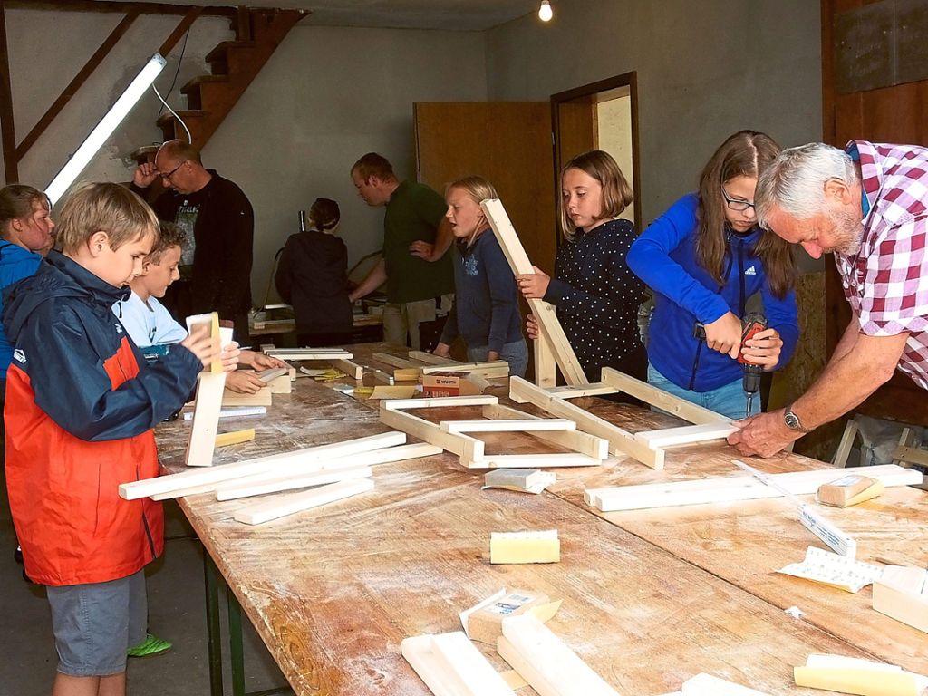 Bad Teinach-Zavelstein: Kinder bauen ihren eigenen Stuhl - Bad ...