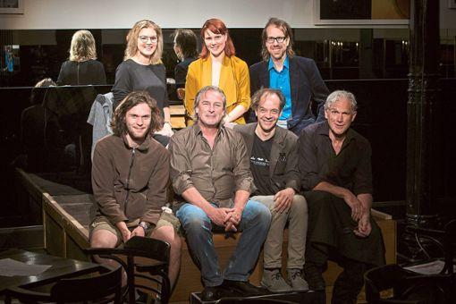 Das Theater-Lindenhof-Team bei der Preisverleihung in Hamburg.  Foto: Bola Laola / Privattheatertage Hamburg Foto: Schwarzwälder Bote