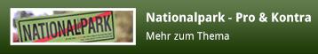 Nationalpark - Pro & Kontra