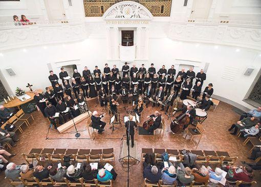 Zu seinem 15-jährigen Bestehen serviert der ChorNetto das Jubiläumswerk Petite Messe solennelle.  Foto: Privat Foto: Schwarzwälder Bote