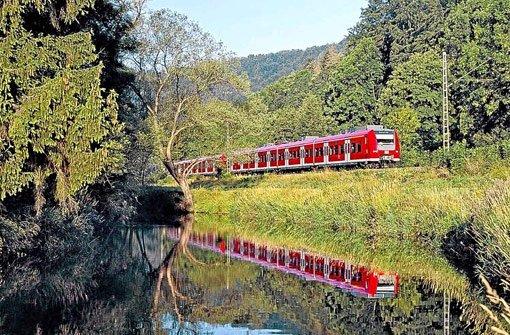 Züge der Gäubahn zwischen Stuttgart und Singen werden bei Stuttgart 21 direkt zum Flughafen geführt – das anderslautende Votum des Filder-Dialogs wird dagegen nicht umgesetzt Foto: Wagner