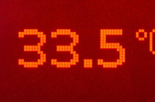 Dem DWD zufolge betragen die Maximaltemperaturen am Dienstag bis zu 37 Grad. Foto: dpa-Zentralbild