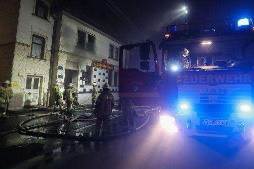In Schwenningen hat eine Shisha-Bar gebrannt. Foto: Marc Eich