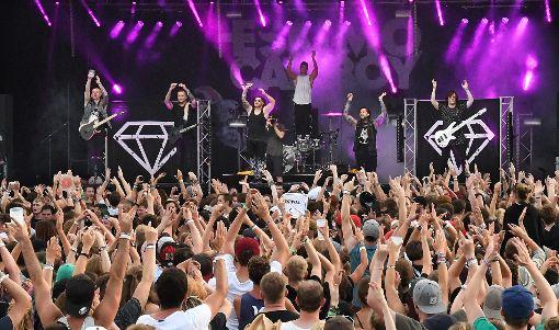 Das Mini-Rock-Festival findet in diesem Jahr  zum letzten Mal statt. Foto: Hopp