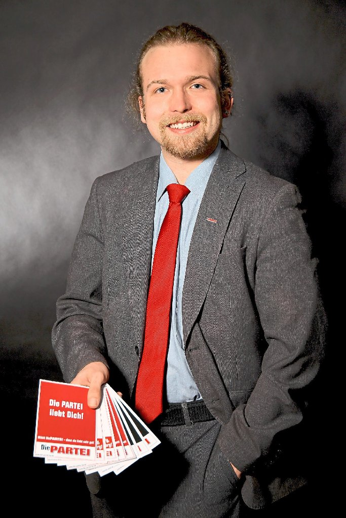 Rottenburg: OB-Wahl: PARTEI-Mitglied will mit satirischem Komik ...
