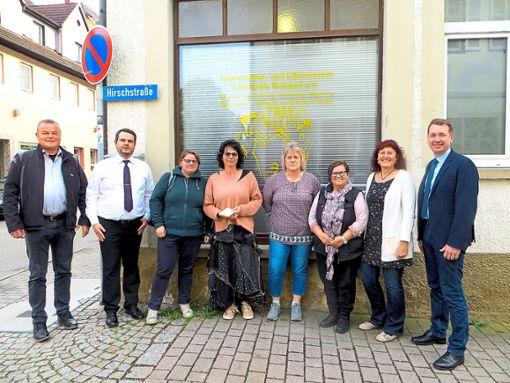 CDU-Kandidaten besuchen den Tagesmütterverein.  Foto: CDU Foto: Schwarzwälder Bote