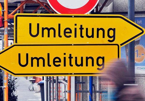 Verkehrsteilnehmer in Villingen müssen sich auf Umleitungen einstellen. (Symbolfoto) Foto: Kaiser