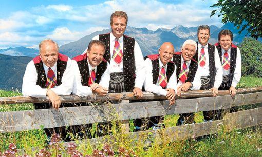 Die Kastelruhter Spatzen kommen im Mai erneut nach Baiersbronn.   Foto: Christian Brecheis Foto: Schwarzwälder Bote