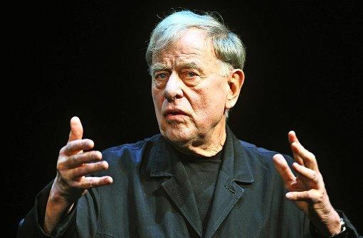 Claus Peymann verlässt  nach 18 Jahren das Berliner Ensemble Foto: dpa