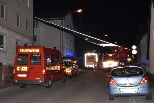 In der Landenbergerstraße in der Schramberger Nordstadt hatte ein Hausbewohner Brandgeruch bemerkt. Foto: Wegner