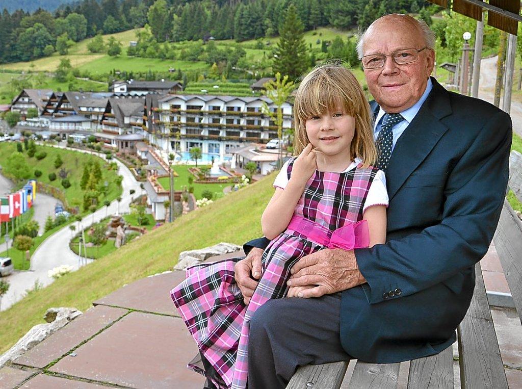 Bad Peterstal Griesbach Rudolf Schmiederer Ist Stolz Auf Seine