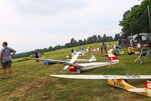Die Vorbilder der Modellflugzeuge sind zum Teil fast 100 Jahre alt.  Foto: Geisel Foto: Schwarzwälder Bote