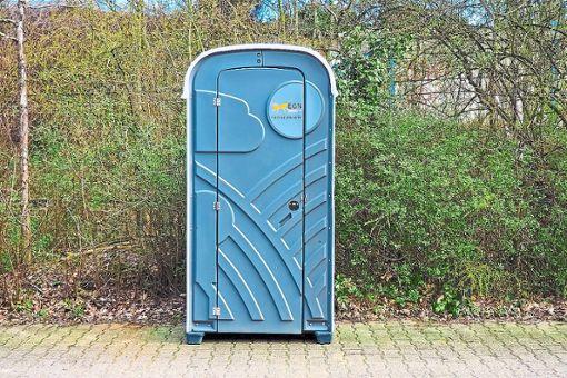 Der Streit entbrannte um die Nutzung einer Dixi-Toilette. (Symbolfoto) Foto: pixabay