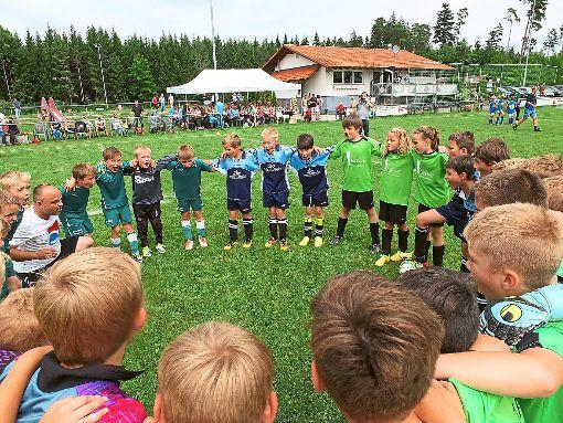 So geht Gemeinschaft: der Familientag des FC Kappel.    Foto: Preuß Foto: Schwarzwälder-Bote