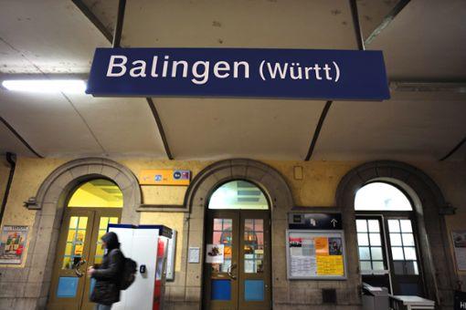 Am Balinger Bahnhof war es zu dem sexuellen Übergriff gekommen. Foto: Maier