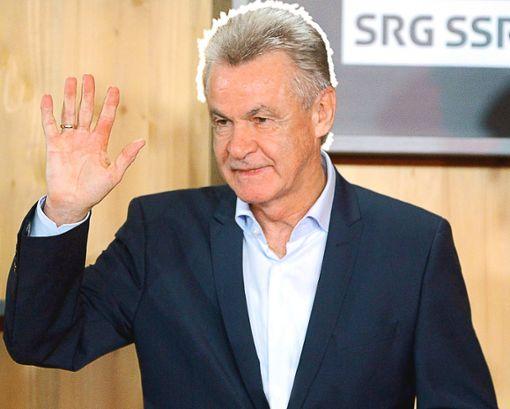 Ottmar Hitzfeld hat seinen letzten Abschied als Fußball-Trainer nicht bereut. Jetzt ist die Familie die Nummer eins im Leben des Privatiers. Foto: Flüeler