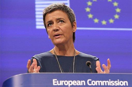 EU-Wettbewerbskommissarin Margrethe Vestager  Foto: dpa