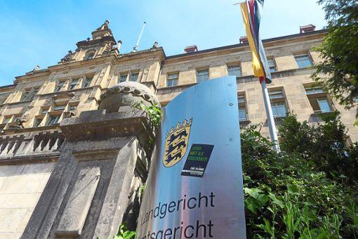 Am Landgericht Tübingen ging der Mordprozess jetzt zu Ende.  Foto: M.Bernklau Foto: Schwarzwälder Bote