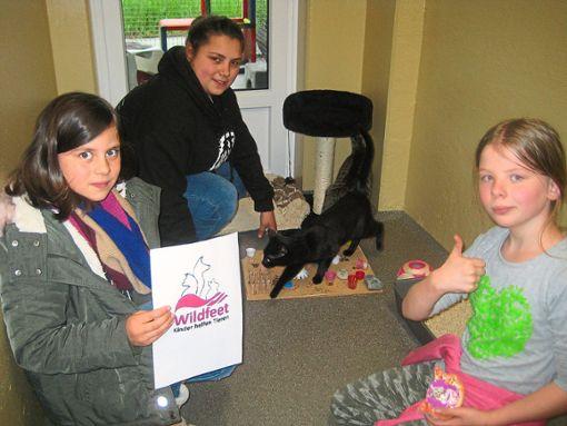Mit einer tollen Paten-Aktion treten die Kinder der Jugendgruppe des Tierschutzvereins in Aktion.  Foto: Tierschutzverein Foto: Schwarzwälder Bote