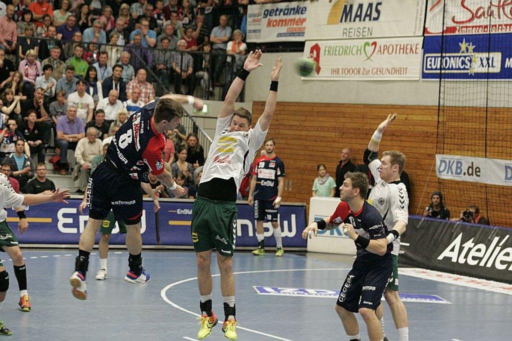 Fotostrecke: Balingen: HBW: Unentschieden gegen TSV GWD Minden Bild ...