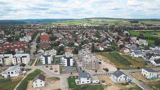 Das Baugebiet Auf Hohen befindet sich mittlerweile im zweiten Bauabschnitt. Aktuell gibt es dort noch 20 Bauplätze.  Foto: Wetzel Foto: Schwarzwälder Bote