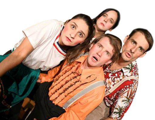 Die ersten Probenfotos (von links): Marlis Bestehorn, Andreas Ricci, Mariam Jincharadze und Steffen Happel    Foto: Linsenmann Foto: Schwarzwälder Bote