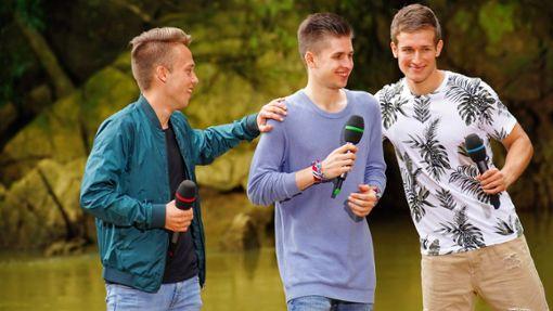Jonas Weisser (links) ist weiter dabei bei Deutschland sucht den Superstar. Foto: TVNOW / Gregorowius