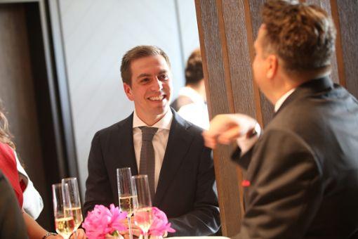 Fußball-Weltmeister Philipp Lahm nimmt ebenfalls an der Eröffnung teil. Foto: Eich