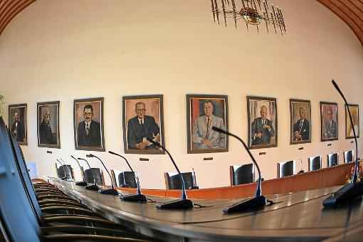 Wer nimmt künftig im großen Ratssaal Platz? Die Wähler haben abgestimmt. Foto: Archiv