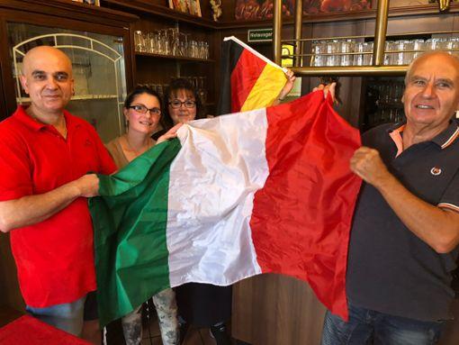 Die Hechinger Italiener sind Multikulti und drücken jetzt Deutschland bei der WM die Daumen. Foto: (nil)