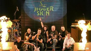 Murgental-Party mit Jigger Skin