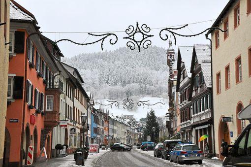 Das winterliche Intermezzo Anfang Dezember war in Wolfach schnell vorbei. Zum zweiten Advent war es mit der weißen Pracht vorüber. Die Temperaturen und der Regen sorgten für Tauwetter.  Foto: Steitz Foto: Schwarzwälder Bote