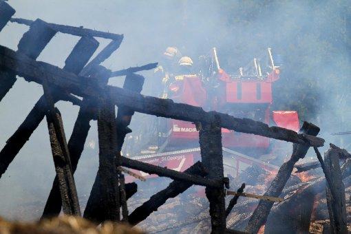 Ein Bauernhof ist in Schramberg abgebrannt. Symbolbild.  Foto: Marc Eich