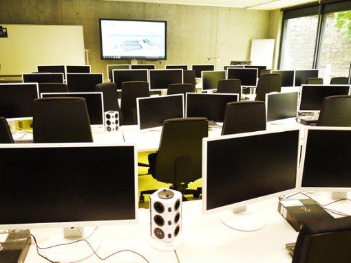 Bestens ausgestattet und mitten im Grünen: die Seminarräume im neuen Gebäude. Foto: Schwarzwälder Bote