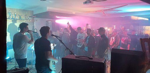 Die Live-Band der Fliegergruppe Hülben lieferte eine hervorragende Show ab. Foto: Schwarzwälder Bote
