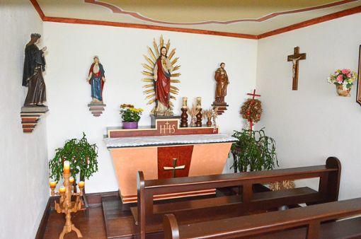 Die Hauskapelle im Wangerhof auf dem Friedrichsberg ist einzigartig in Hardt – doch sie hat einen traurigen Ursprung, der am Sonntag zur Sprache kommen wird.   Foto: Dold Foto: Schwarzwälder Bote