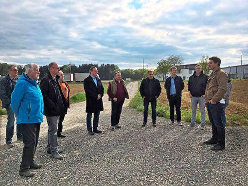 Die CDU-Kreistagskandidaten informieren sich über alternative Energien.  Foto: CDU Foto: Schwarzwälder Bote