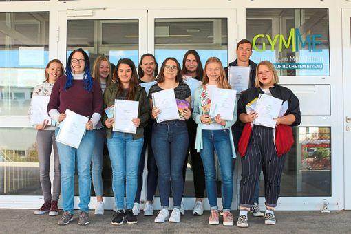 Waren erfolgreich beim Wettbewerb: die Schüler des Gymnasiums Meßstetten.  Foto: Gymnasium Foto: Schwarzwälder Bote