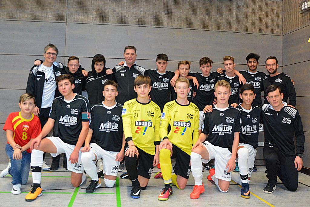 Fussball Hoffenheimer U15 Entfuhrt Den Cup Fussball