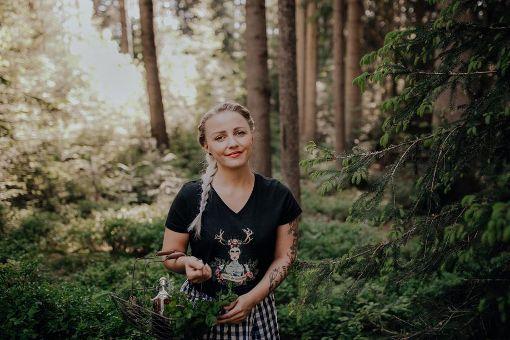 Christin Lehmann bloggt als Landmädchen über das Leben in St. Georgen. Foto: Hanselowski