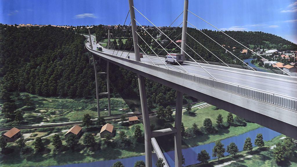 Kreis Freudenstadt: Hochbrücke wird frühestens 2023 freigegeben - Freudenstadt - Schwarzwälder Bote