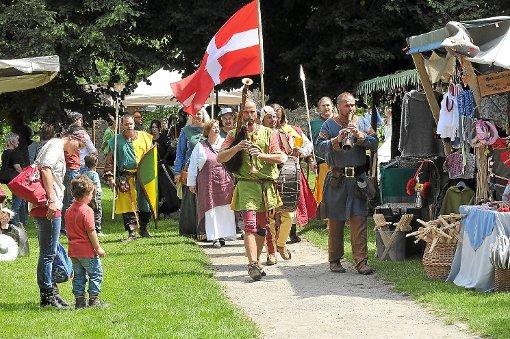 Auch einen Mittelaltermarkt wird es beim Calwer Stadtfest geben. (Symbolfoto) Foto: Schnekenburger