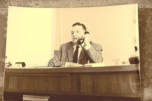 Gustav Rivinius, geboren 1897, gestorben 1975, leitete das Hausacher Mannesmann-Werk bis 1964.  Foto: Repros: Selter