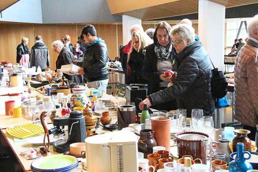 Es soll auch ohne Chaos gehen: Der Balinger Warentauschtag geht am 14. April um 13 Uhr in die nächste Runde. Dieses Mal werden die Macher und Helfer ein waches Auge auf Wiederverkäufer und Händler haben. Foto: Thiercy