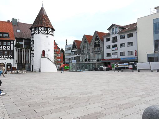 Die Tiefgarage Bürgerturm ist ab Freitag um 12 Uhr gesperrt. Foto: Archiv