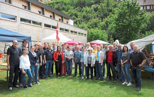 Eine Woche vor den Kommunalwahlen konnte die Hornberger Einwohnerschaft am Samstag bei einer parteiübergreifenden Wahlveranstaltung noch einmal auf Tuchfühlung mit den lokalen Kandidaten von CDU, SPD und Freie Wähler gehen.   Foto: Jehle