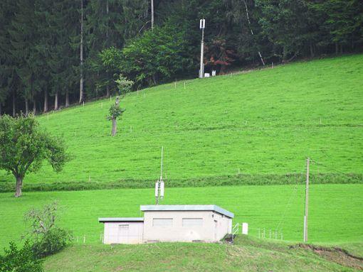 Der Hochbehälter ist ein möglicher Standort für den LTE-Masten.  Foto: Störr Foto: Schwarzwälder Bote