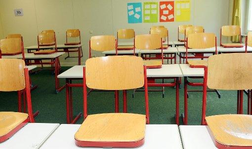 Klassenraum im Schulzentrum: In den kommenden Wochen werden auch andere Schulen und Kindergärten hinsichtlich Formaldehyd überprüft. Foto: Hopp