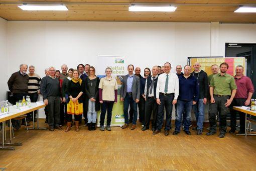 Förster, Landwirte, Weidetierhalter und Naturschützer diskutierten im Landratsamt Sigmaringen über die Rolle des Naturparks Obere Donau.   Fotos: Kolbeck Foto: Schwarzwälder Bote
